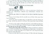 Thông báo tiếp nhận hồ sơ công bố hợp quy số 156/TN-SXD ngày 07/11/2017